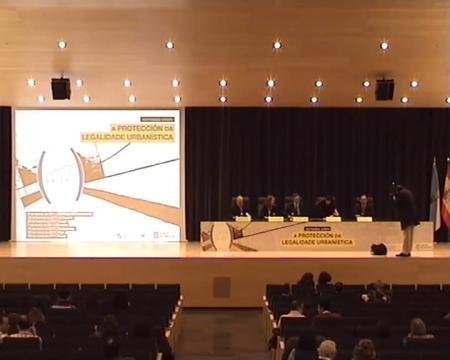 Inauguración Pontevedra  - Xornada sobre a Protección da Legalidade Urbanística